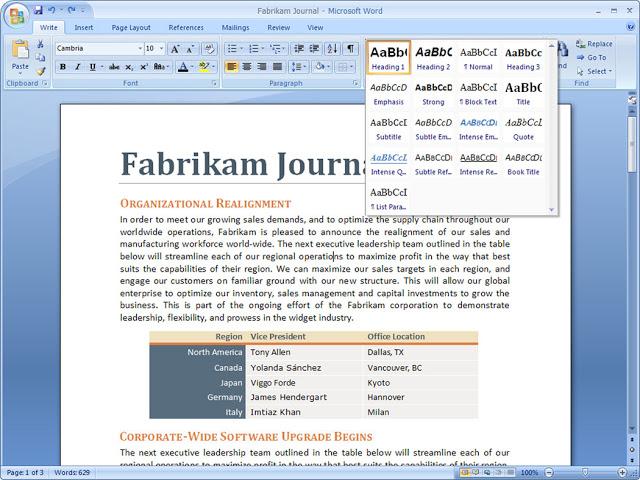 Microsoft Office Professional Plus 2007 Crack