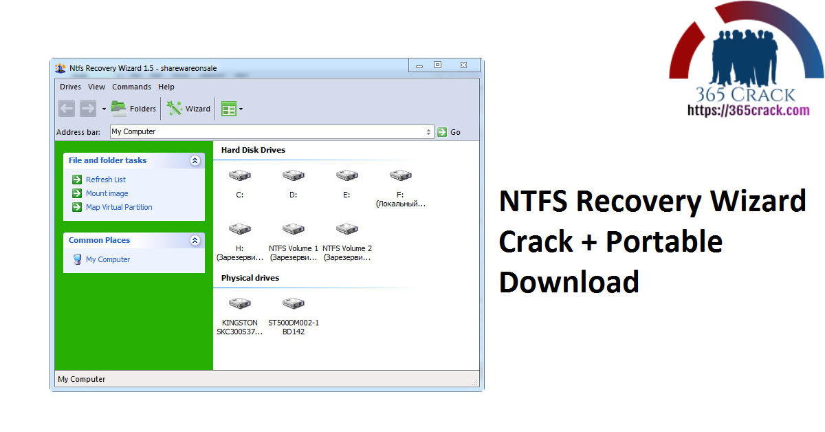 NTFS Recovery Wizard Crack + Portable Download