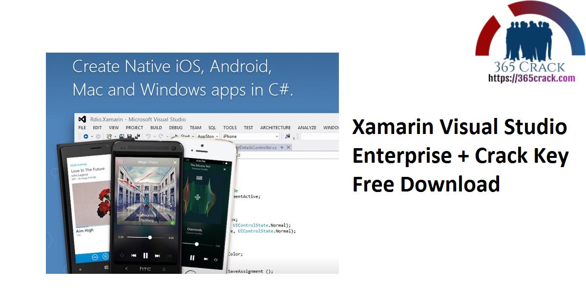 Xamarin Visual Studio Enterprise + Crack Key Free Download