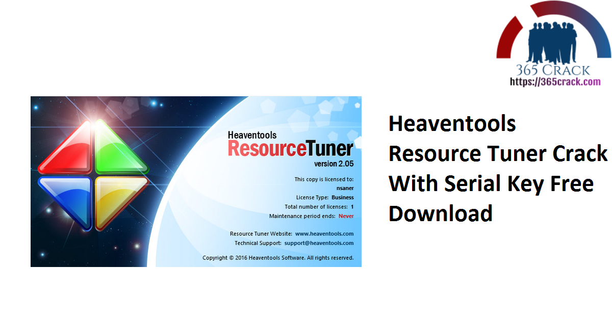 Heaventools Resource Tuner Crack With Serial Key Free Download