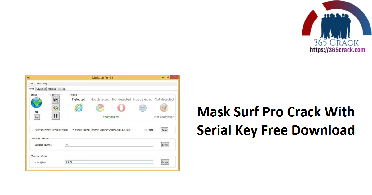 Mask Surf Pro Crack With Serial Key Free Download