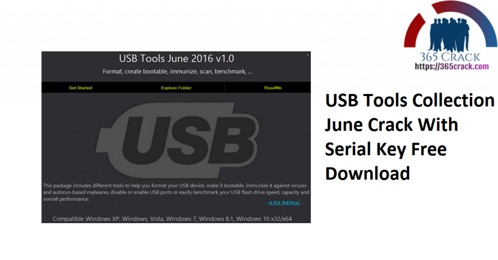 USB Tools Collection June Crack With Serial Key Free Download