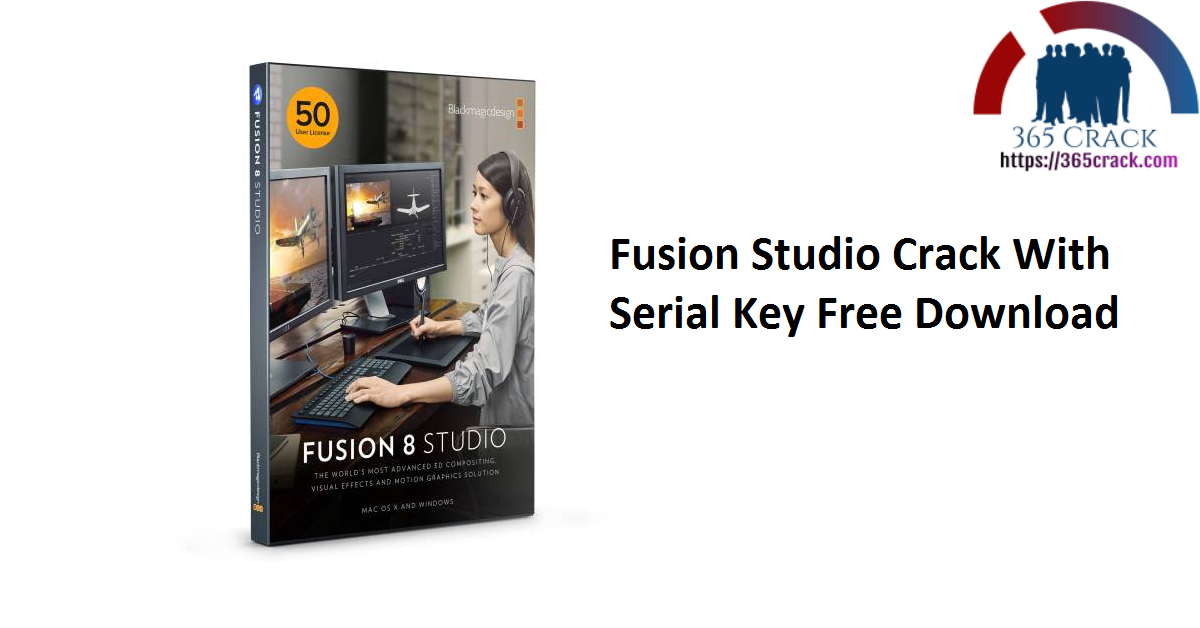 Fusion Studio Crack With Serial Key Free Download