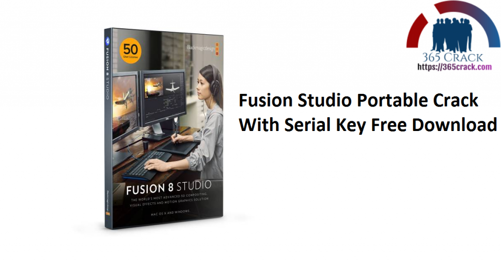 Fusion Studio Portable Crack With Serial Key Free Download