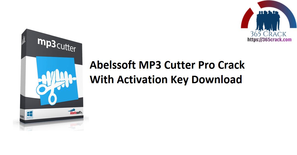 Abelssoft MP3 Cutter Pro Crack With Activation Key Download