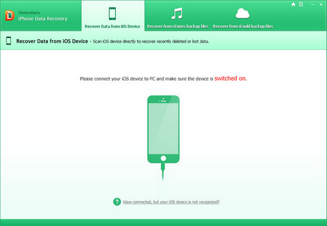 Tenorshare iPhone Data Recovery Crack With Serial Key Download