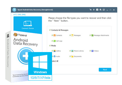 Tipard Android Data Recovery Crack With Registration Key Download