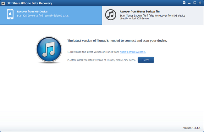 7thShare iPhone Data Recovery Crack With Activation Key Download