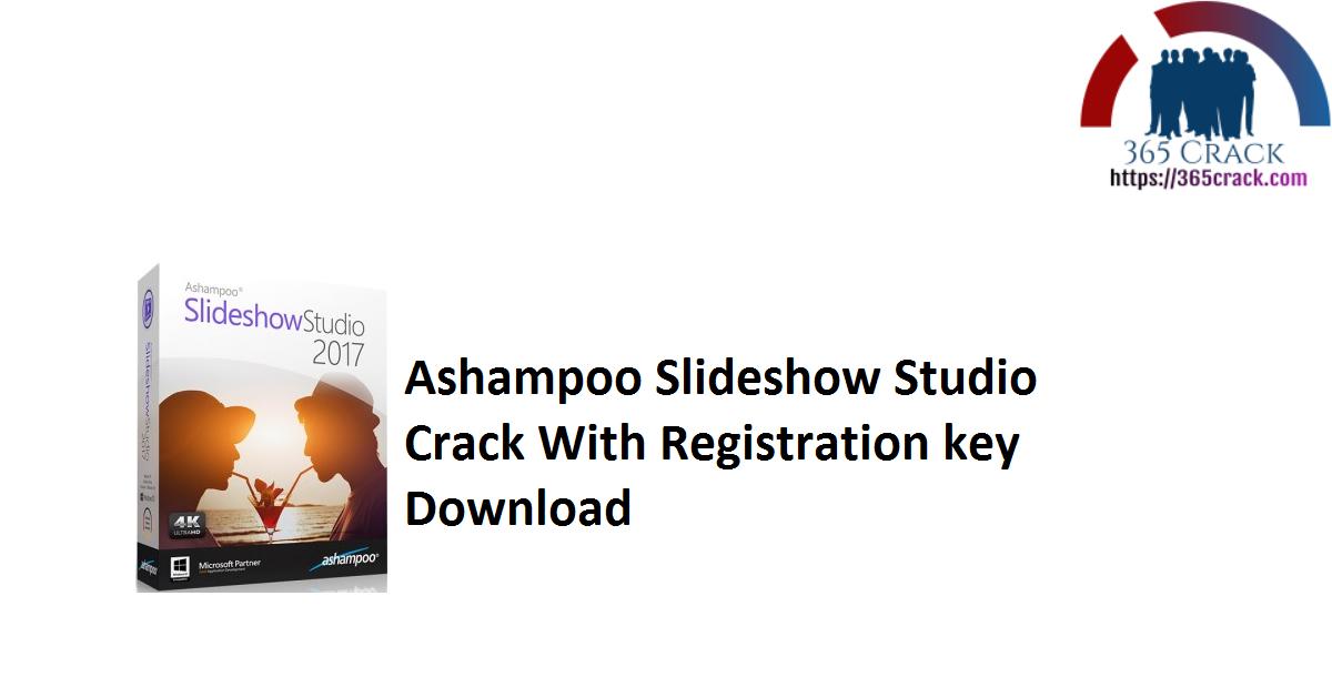 Ashampoo Slideshow Studio Crack With Registration key Download