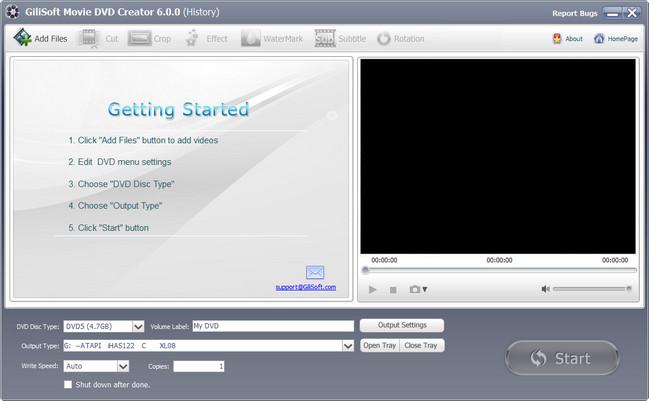 GiliSoft Movie DVD Creator Crack With Activation Keys Download