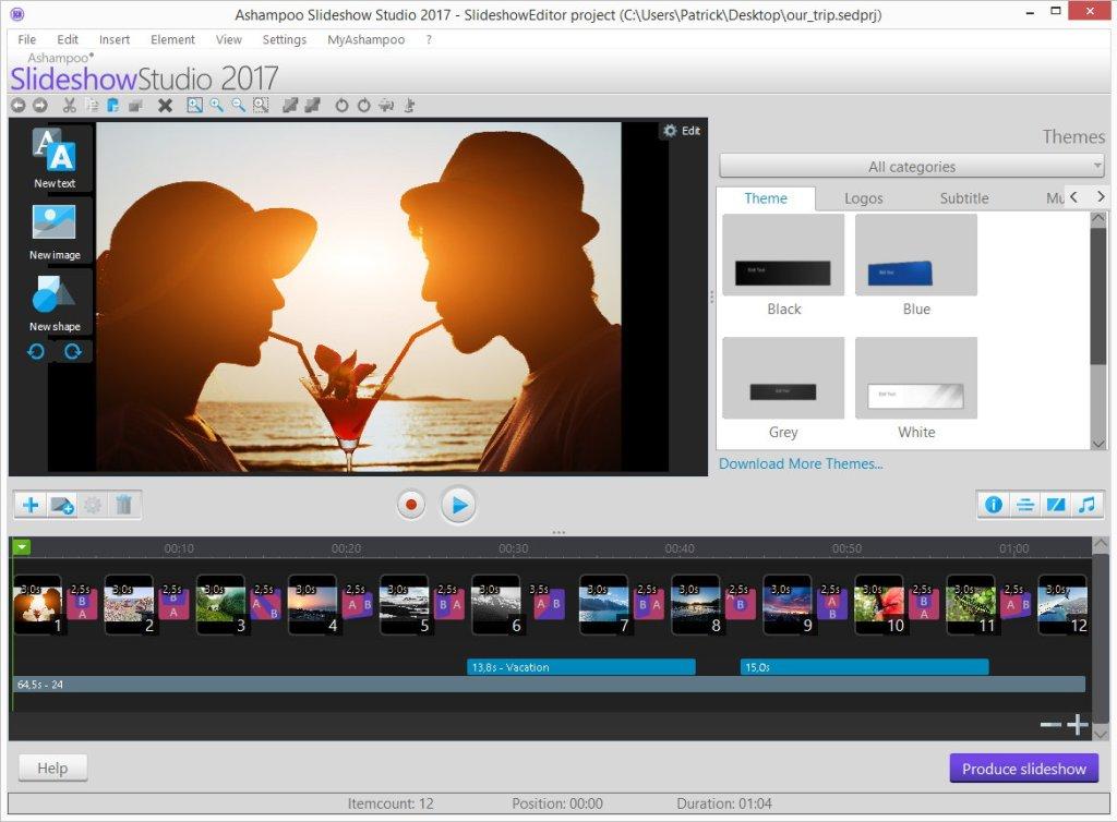 Ashampoo Slideshow Studio Crack With Serial key Download