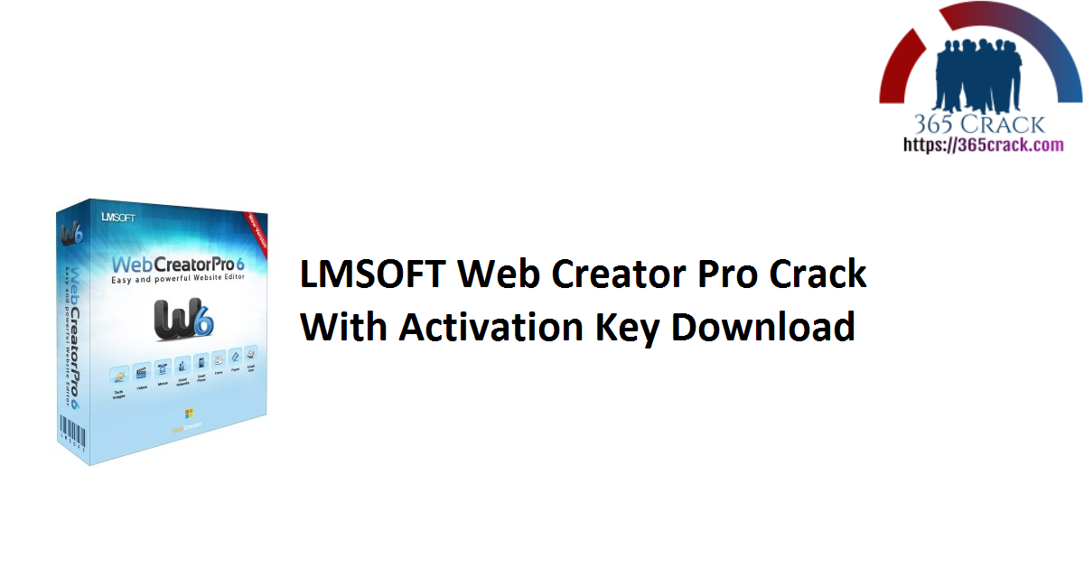 LMSOFT Web Creator Pro Crack With Activation Key Download