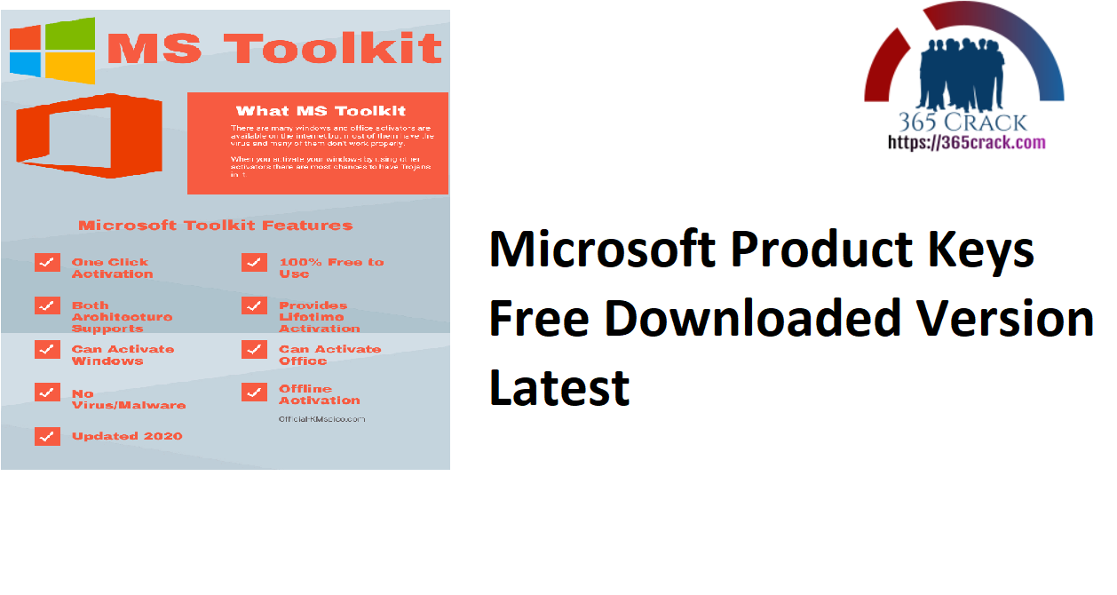 Microsoft Product Keys Free Downloaded Version Latest