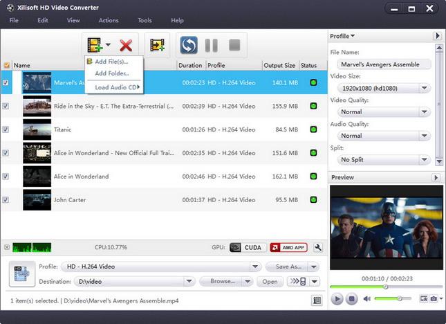 Xilisoft HD Video Converter Crack