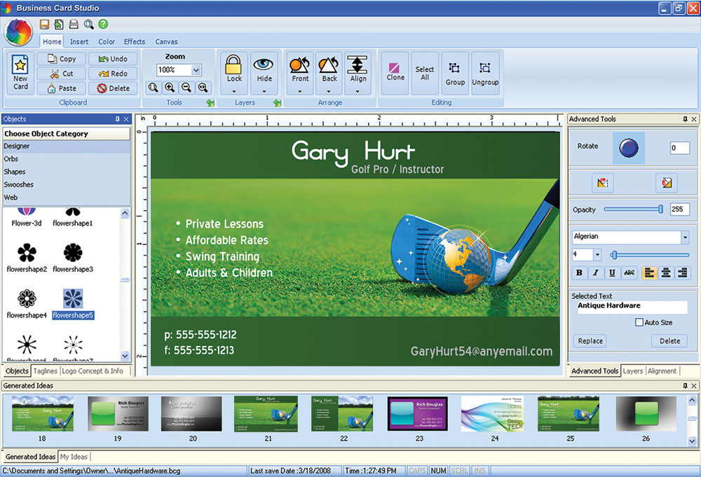 Business Card Studio Deluxe Crack With Registrstion Key Download