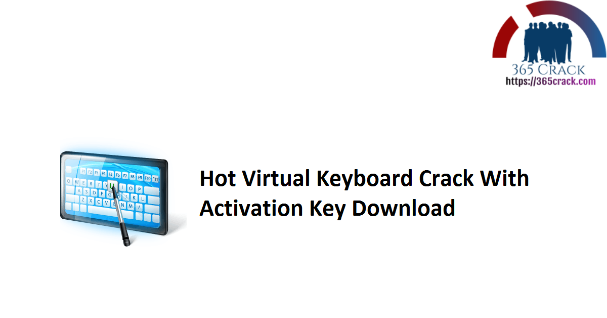 Hot Virtual Keyboard Crack With Activation Key Download