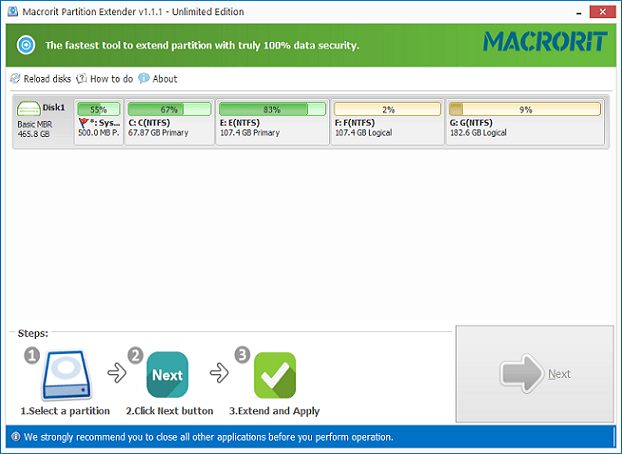 Macrorit Partition Extender Crack With Activation Key Download