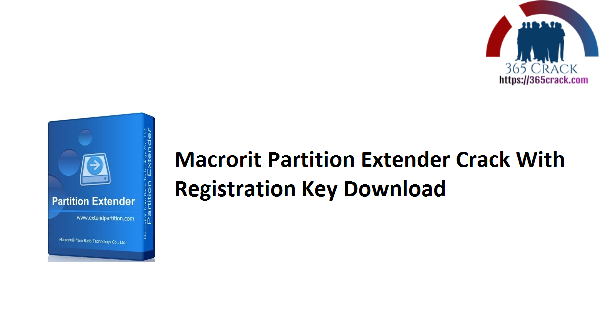 Macrorit Partition Extender Crack With Registration Key Download