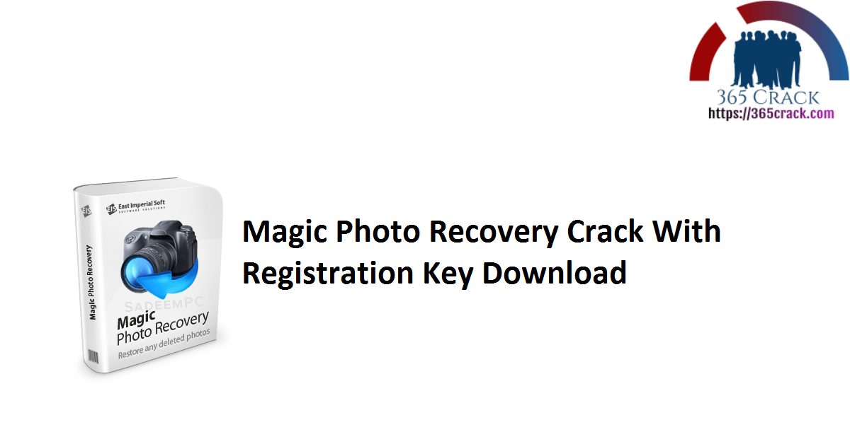 Magic Photo Recovery Crack With Registration Key Download