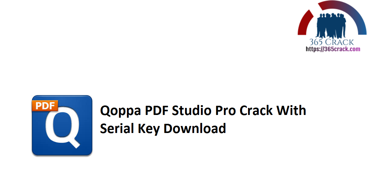 Qoppa PDF Studio Pro Crack With Serial Key Download