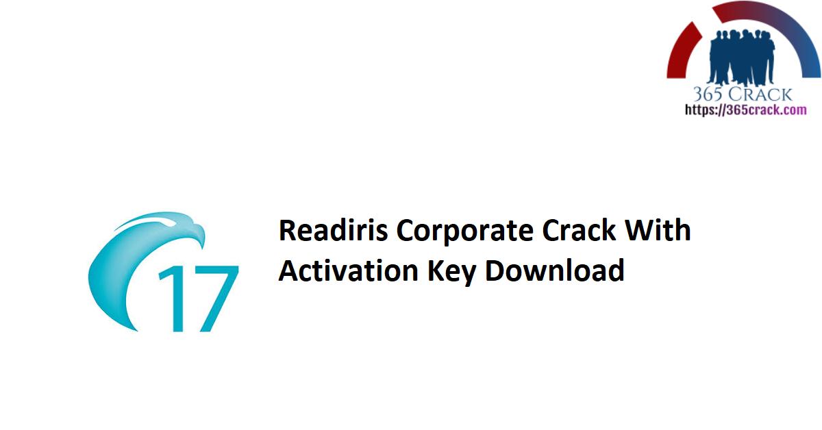 Readiris Corporate Crack With Activation Key Download