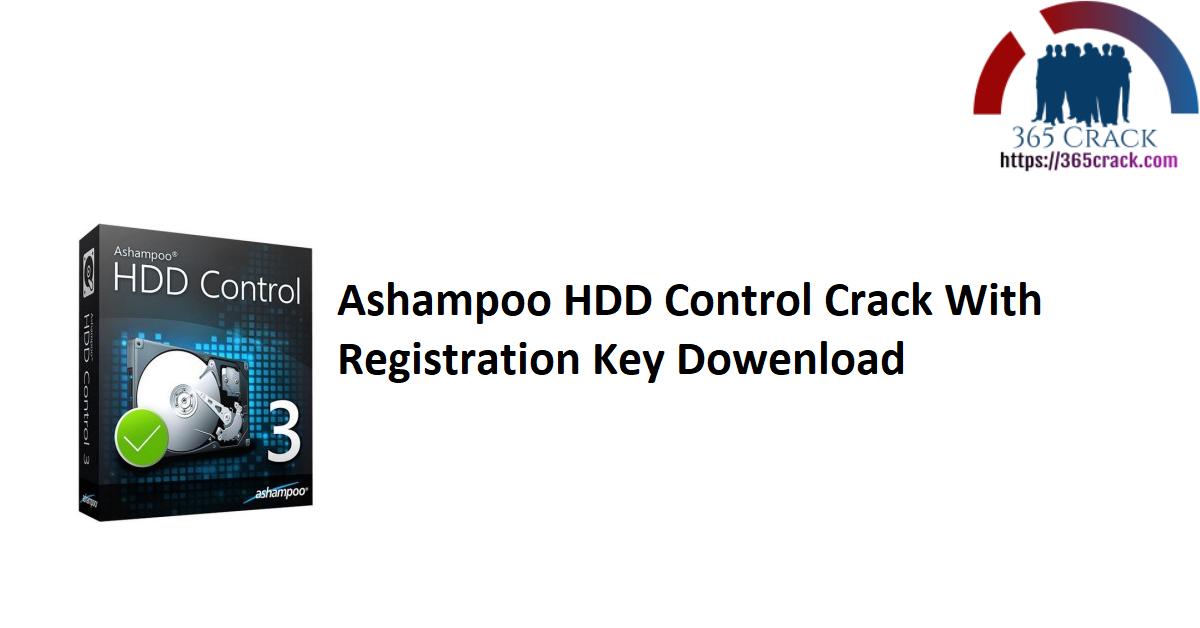 Ashampoo HDD Control Crack With Registration Key Dowenload