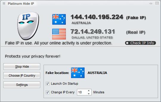 Platinum Hide IP Crack With Registration Key Download