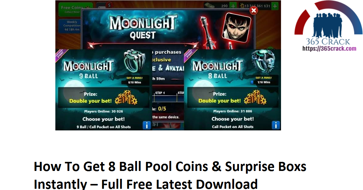 How To Get 8 Ball Pool Coins & Surprise Boxs Instantly – Full Free Latest Download