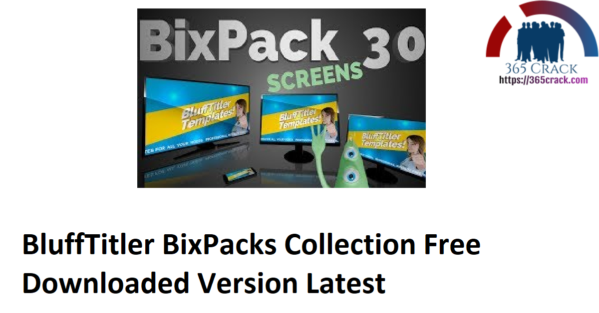 BluffTitler BixPacks Collection Free Downloaded Version Latest