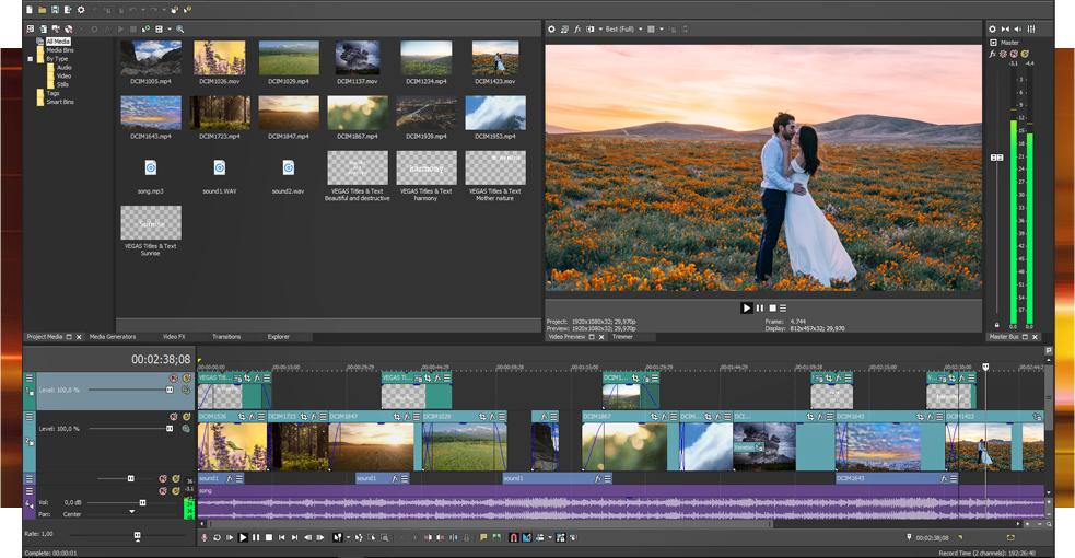 MAGIX VEGAS Pro Edit Crack With Activation Key Download