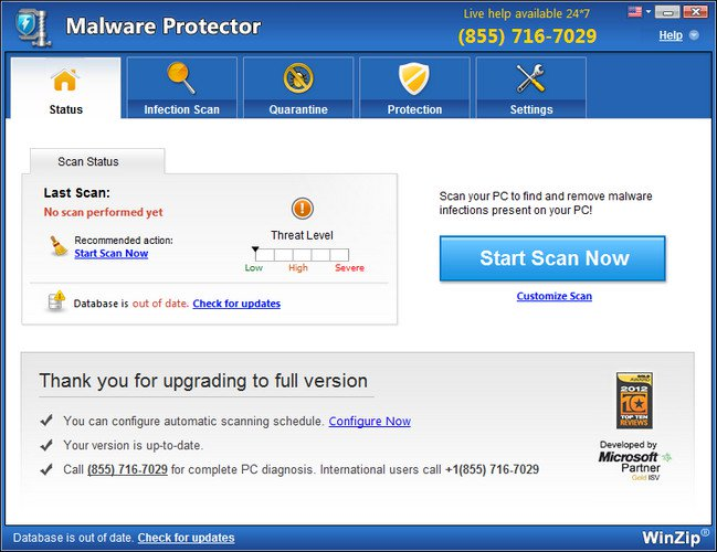 WinZip Malware Protector Crack With Serial key Download