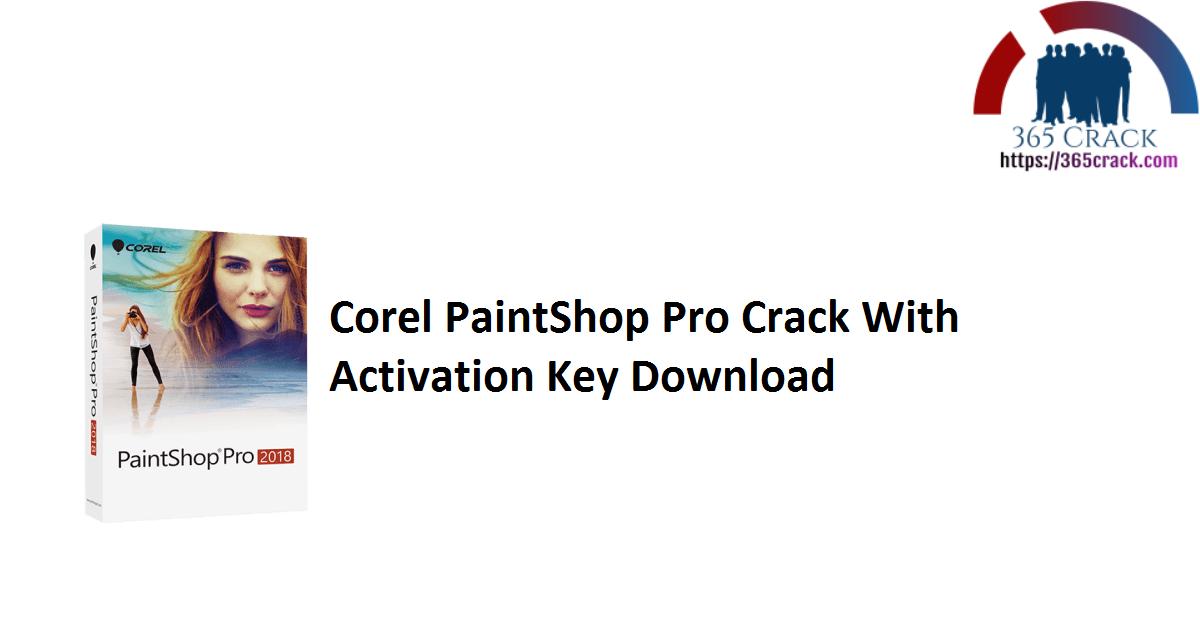 Corel PaintShop Pro Crack With Activation Key Download