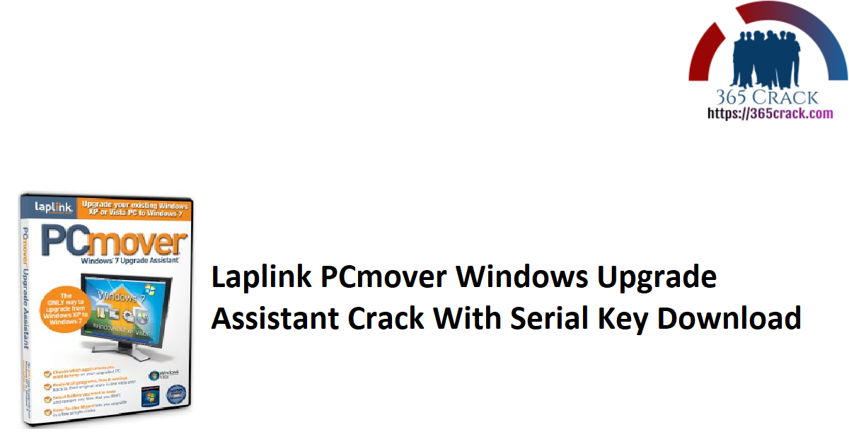 Laplink PCmover Windows Upgrade Assistant Crack With Serial Key Download