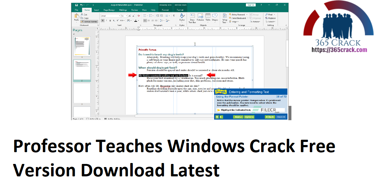 Professor Teaches Windows Crack Free Version Download Latest