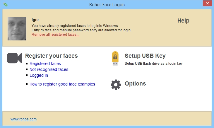 Rohos Face Logon Crack With Activation Key Download