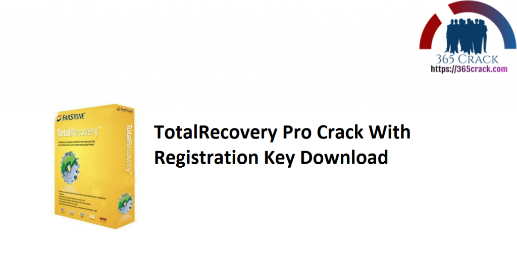 TotalRecovery Pro Crack With Registration Key Download