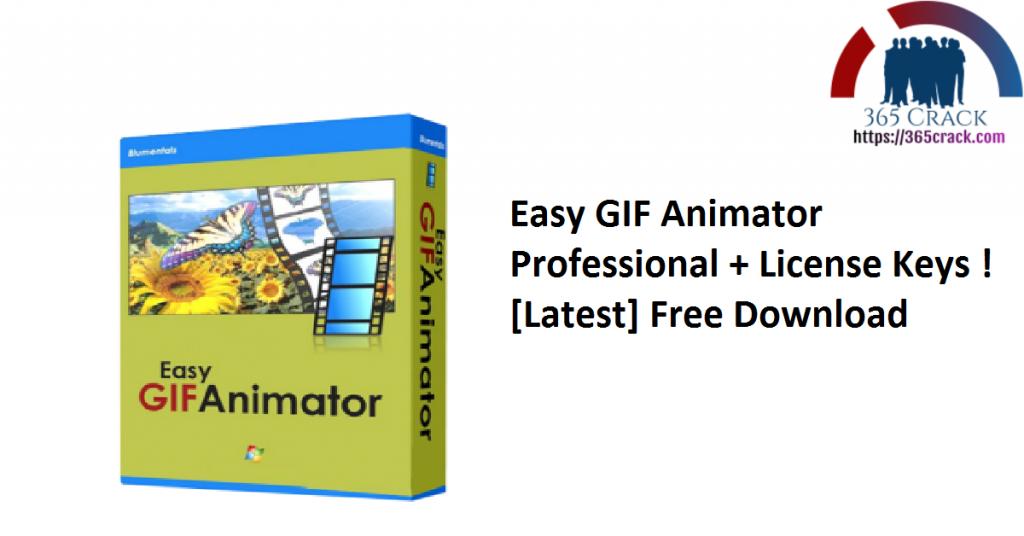 Easy GIF Animator Professional + License Keys ! [Latest] Free Download