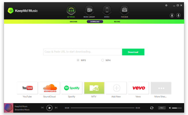 KeepVid Music 8.3.0.4 Crack