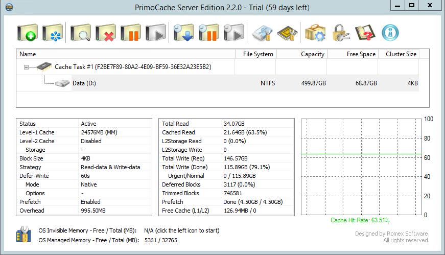 PrimoCache Desktop Edition 4.1.0 Crack