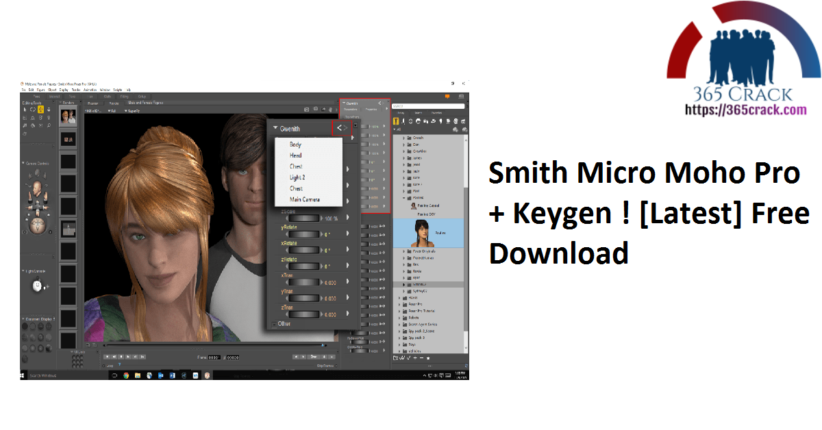 Smith Micro Moho Pro + Keygen ! [Latest] Free Download
