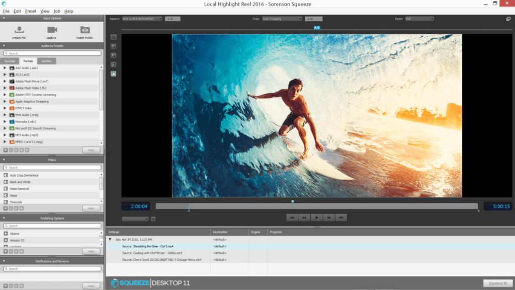 Sorenson Squeeze Desktop Pro 11.1.0.293 Crack