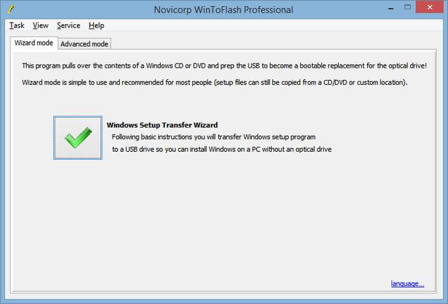 WinToFlash Professional 1.15.0032 Crack