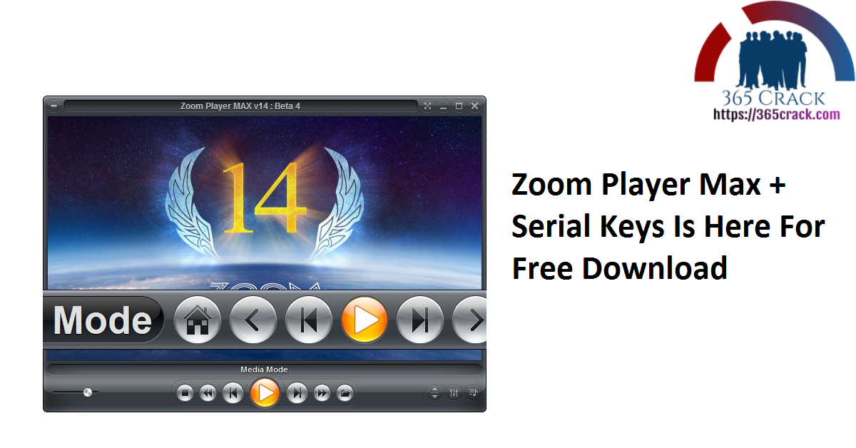 Zoom Player Max + Serial Keys Is Here For Free Download