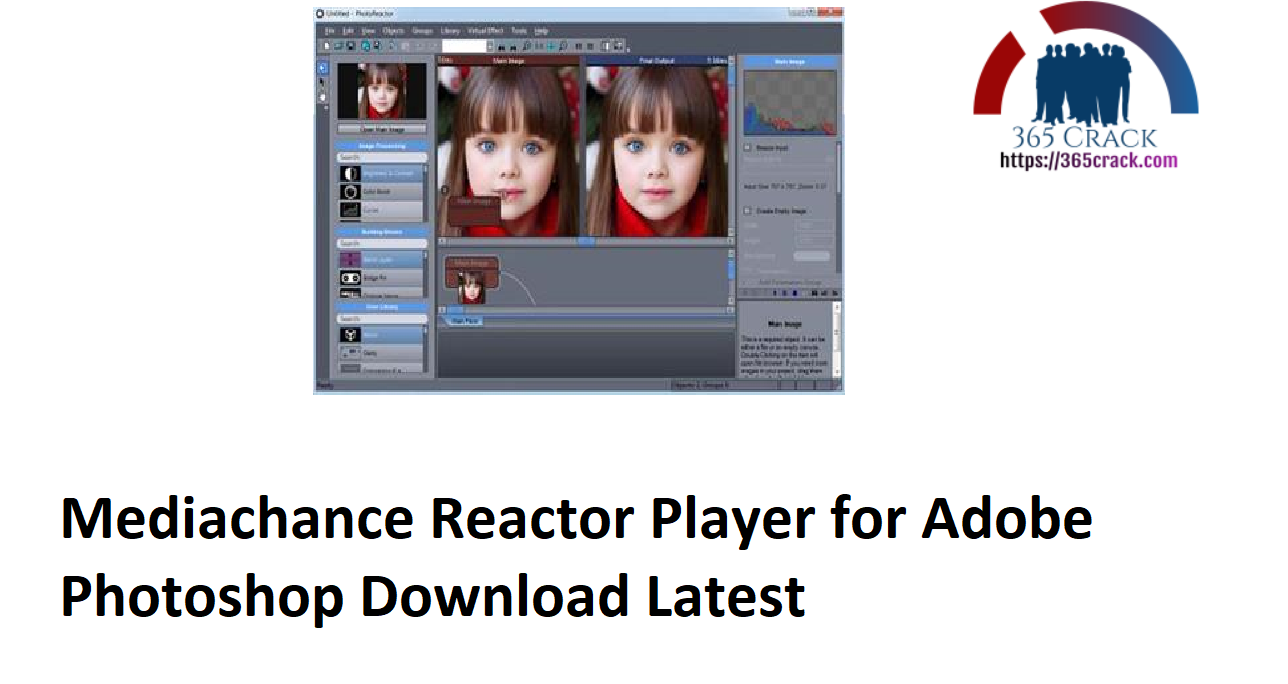 Mediachance Reactor Player for Adobe Photoshop Download Latest