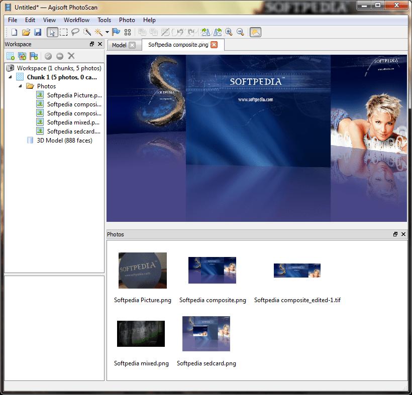 PhotoScan Professional 1.6.2 build 10247 Crack