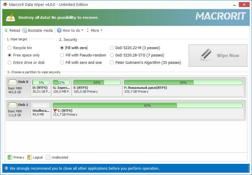 Macrorit Data Wiper 4.6.3 Unlimited Edition Crack