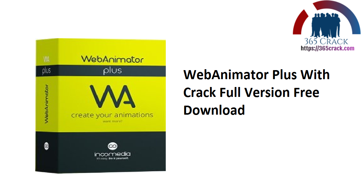 WebAnimator Plus With Crack Full Version Free Download