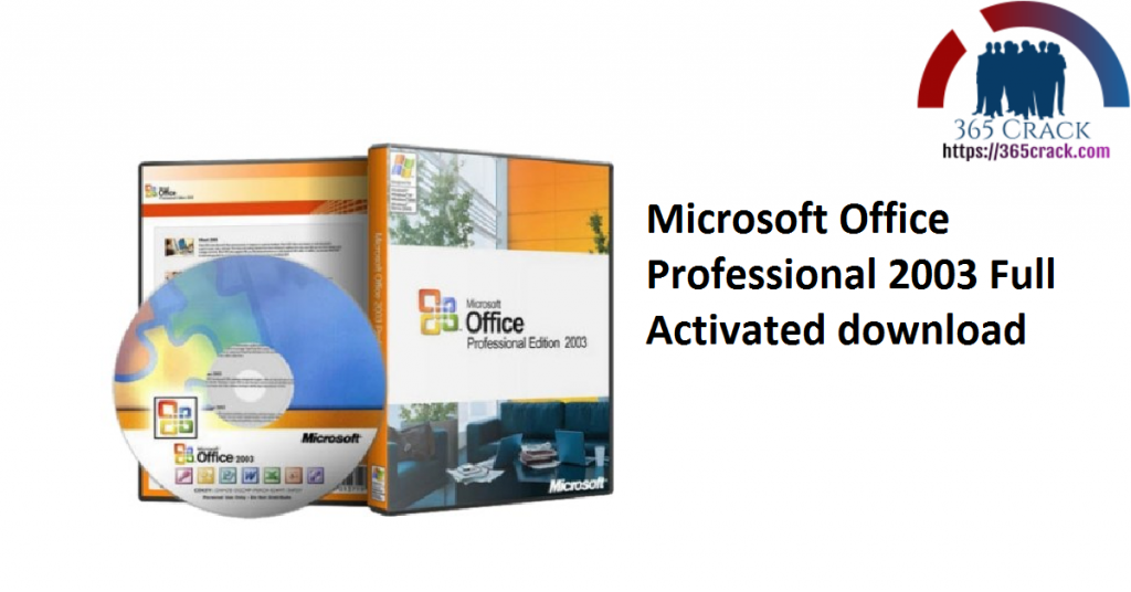 Microsoft Office Professional 2003 Full Activated download