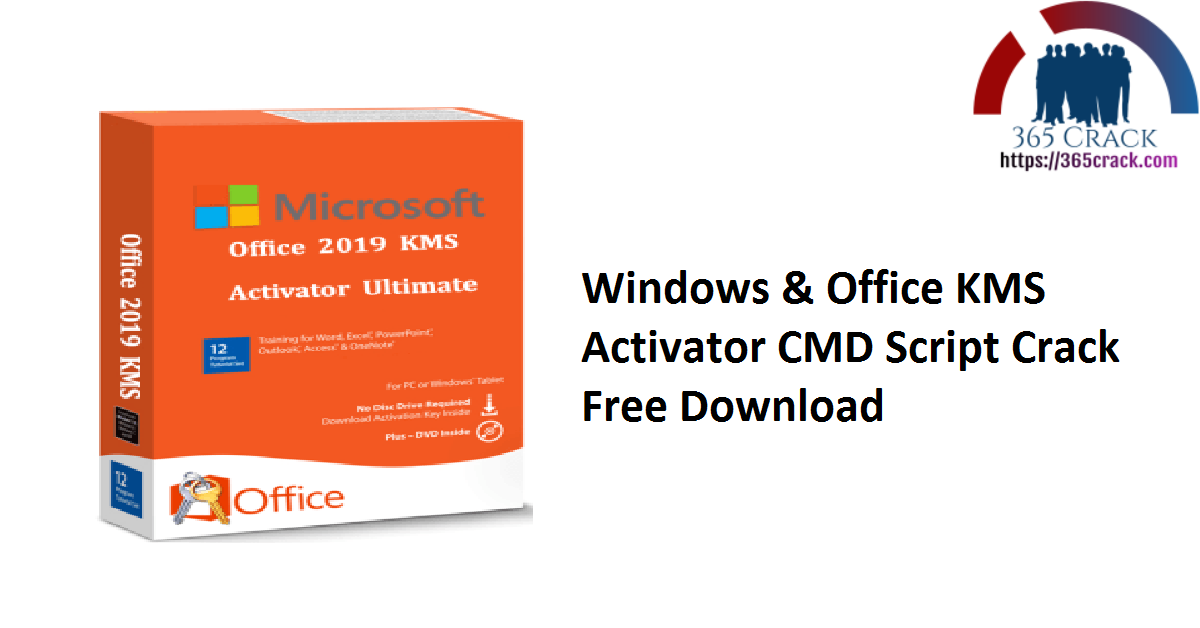 Windows & Office KMS Activator CMD Script Crack Free Download