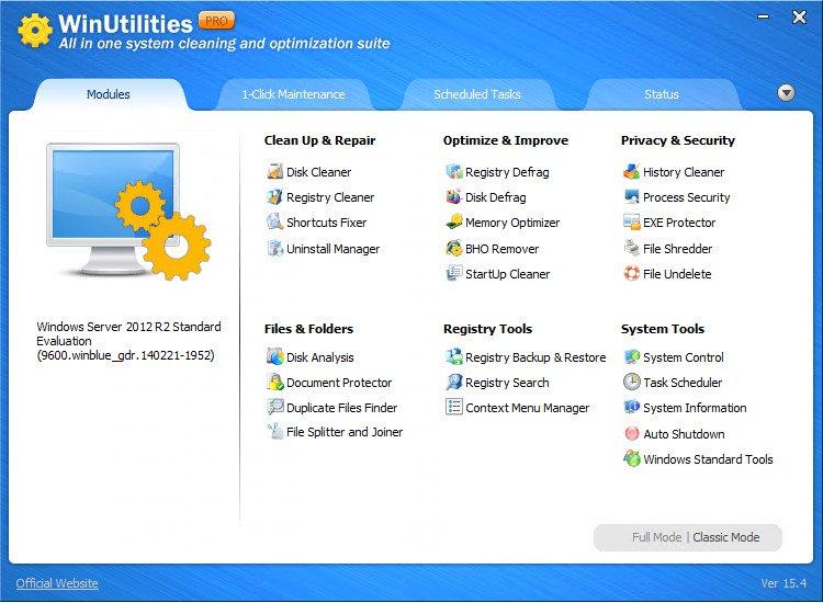 WinUtilities Professional 16 Crack